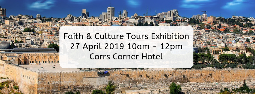 Faith & Culture Tours Exhibition April 2019