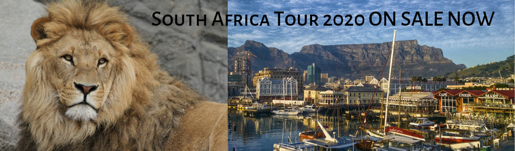 South Africa 2020 Tour Now On Sale