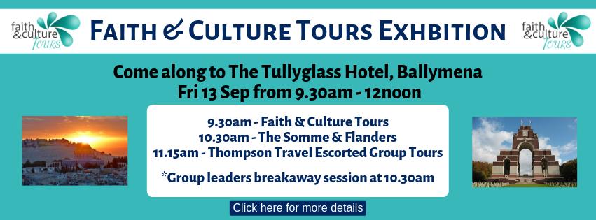 Faith & Culture Tours Exhibition September 2019